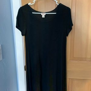 Black Tee-Shirt Dress